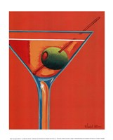 Sunglow Martini I Fine-Art Print