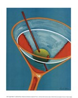Sunglow Martini II Fine-Art Print