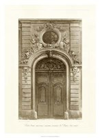 Ornamental Door I Giclee