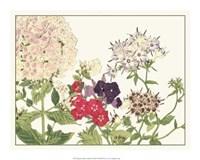 Japanese Flower Garden II Giclee