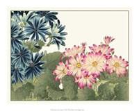 Japanese Flower Garden IV Giclee