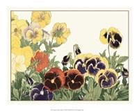 Japanese Flower Garden V Giclee