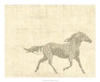 Vintage Horse I Giclee