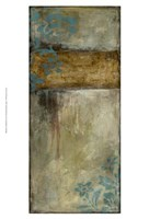 Teal Patina I Fine-Art Print