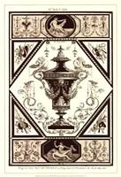 Sepia Pergolesi Urn I Fine-Art Print