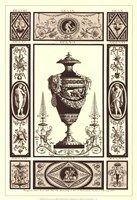 Sepia Pergolesi Urn II Fine-Art Print