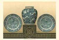 Porcelain In Teal I Fine-Art Print