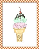 Ice Cream Parlor I Fine-Art Print