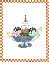 Ice Cream Parlor IV Fine-Art Print