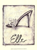 Elle- French Slipper Fine-Art Print