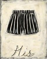 His- French Silk Fine-Art Print