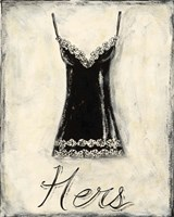 Hers- French Lace Fine-Art Print