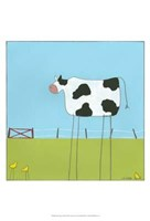 Stick-Leg Cow II Fine-Art Print