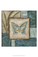 Large Butterfly Montage I Fine-Art Print