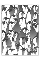 Penguin Family I Fine-Art Print