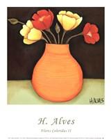 Flores Coloridas II Fine-Art Print