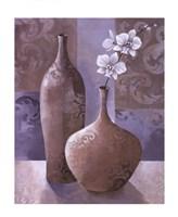 Silver Orchids I Fine-Art Print
