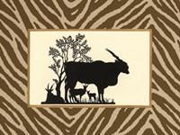 Serengeti Silhouette I Fine-Art Print
