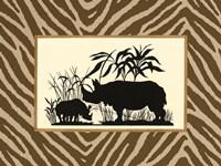 Serengeti Silhouette II Fine-Art Print