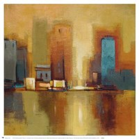 City Reflections II Fine-Art Print