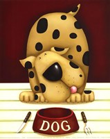 Dinner's in the Dog (Mini) Fine-Art Print