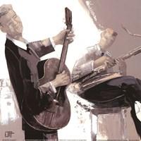 La Guitare Fine-Art Print