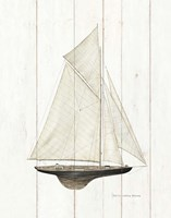 Sailboat I Fine-Art Print