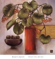 Passion Fruit And Vase Fine-Art Print