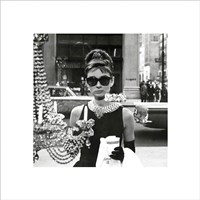 Audrey Hepburn – Window Fine-Art Print