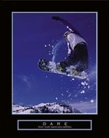 Dare – Snowboarder Fine-Art Print