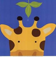 Peek-A-Boo Giraffe Fine-Art Print