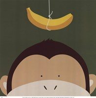 Peek-A-Boo Monkey Fine-Art Print