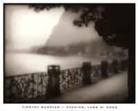 Evening, Lago Di Como Fine-Art Print