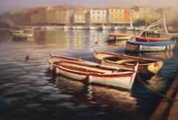 Harbor Morning I Fine-Art Print