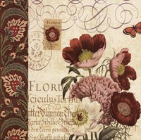 Floral Collage II Fine-Art Print