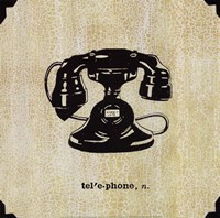 Office Telephone Fine-Art Print