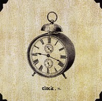 Office Clock Fine-Art Print