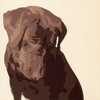Chocolate Labrador Fine-Art Print
