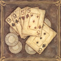 Poker - Nines and Fives Fine-Art Print