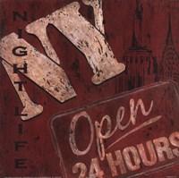 New York Nightlife Fine-Art Print