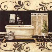 Ivory And Ebony I Fine-Art Print