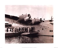Clipper Flying Boat Fine-Art Print