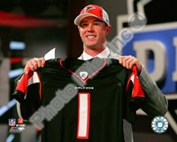 Matt Ryan Draft Day - 2008 NFL Draft # 3 Pick Fine-Art Print