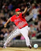 Francisco Rodriguez 2008 Pitching Action Fine-Art Print