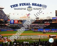 "Yankee Stadium 2008 Opening Day With Overlay ""The Final Season"" Fine-Art Print"