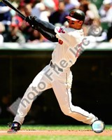 Grady Sizemore 2008 Batting Action Fine-Art Print