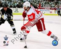 Henrik Zetterberg, Game 4 Action of the 2008 NHL Stanley Cup Finals Fine-Art Print