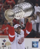 Brian Rafalski with the Stanley Cup, Game 6 of the 2008 NHL Stanley Cup Finals; #32 Fine-Art Print