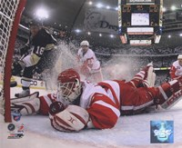 Chris Osgood in Game 6 of the 2008 NHL Stanley Cup Finals; Action #25 Fine-Art Print