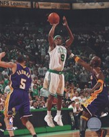 Rajon Rondo, Game 1 of the 2008 NBA Finals; Action #3 Fine-Art Print